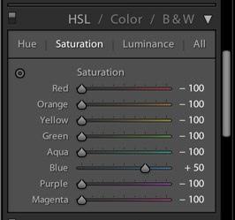 Selective Color LR