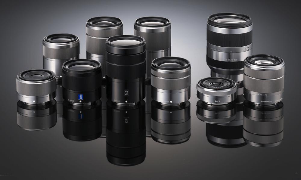 Sony E MOUNT APS C Lenses